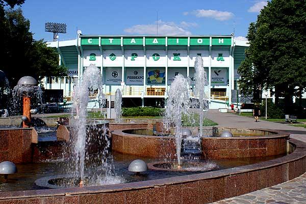 """Полтава. Стадион: """"Ворскла"""" им. А. Бутовского"""