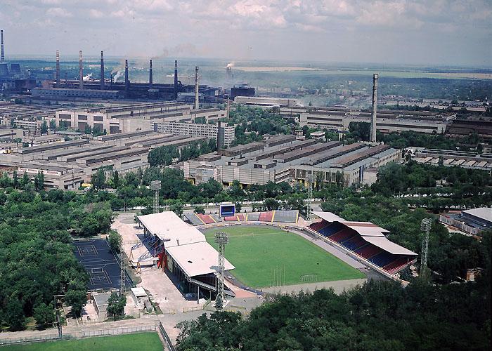 Мариуполь. Стадион: «Ильичевец»